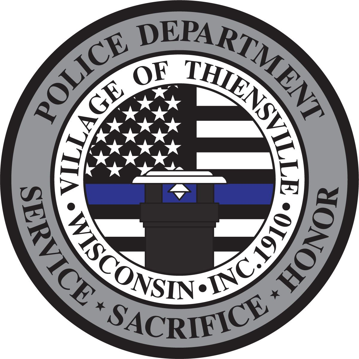 THIENSVILLE PD NEW PATCH