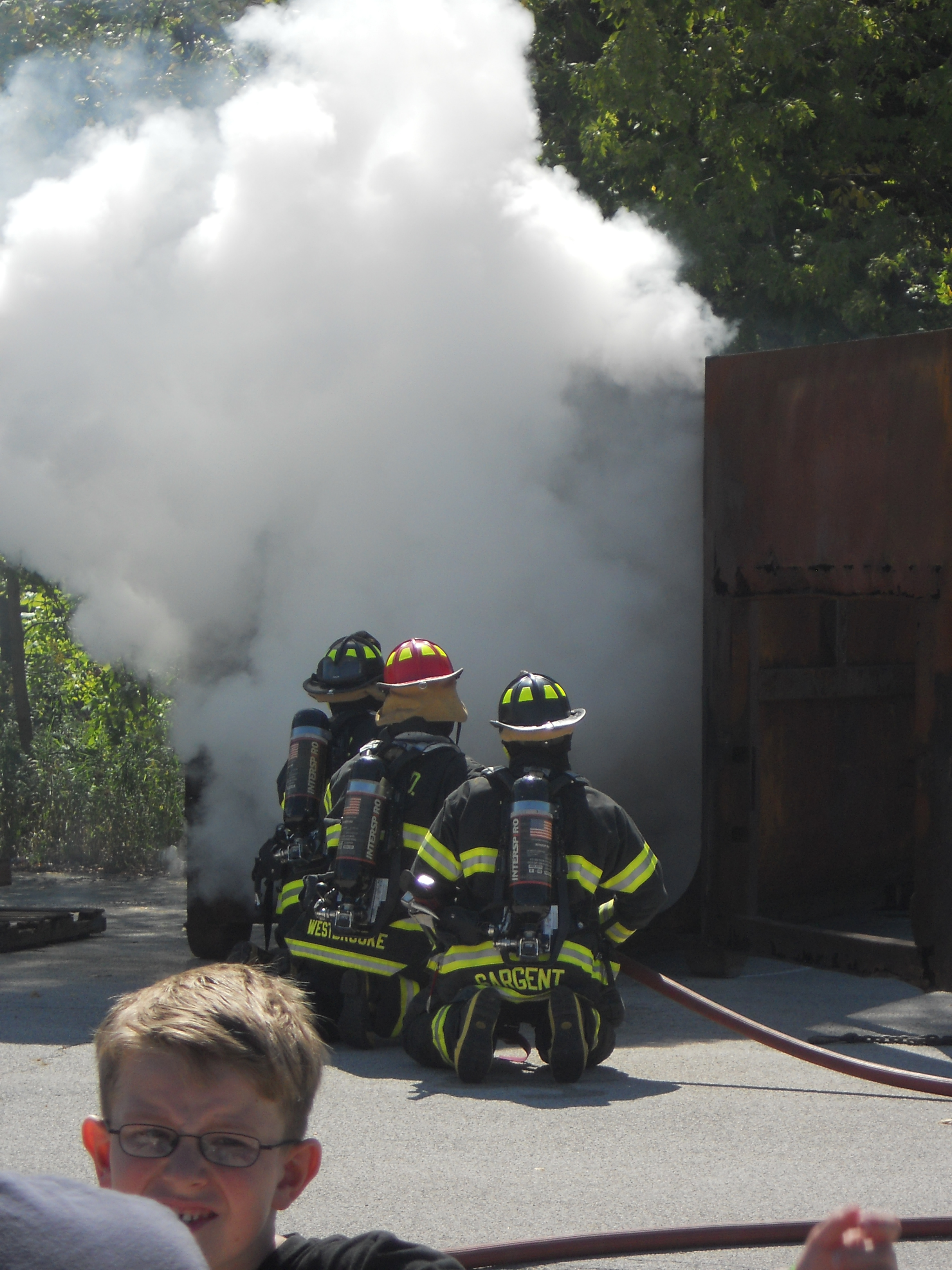 Fire Suppression Demonstration